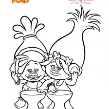 trolls coloring sheet suki poppy