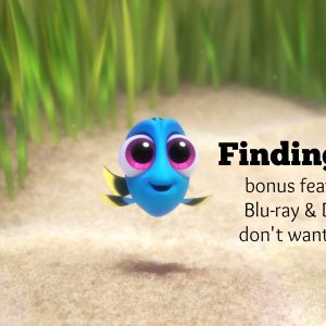 Finding Dory - bonus features #FindingDoryBluRay