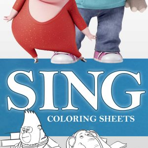 Sing Movie Coloring Sheets and Printables