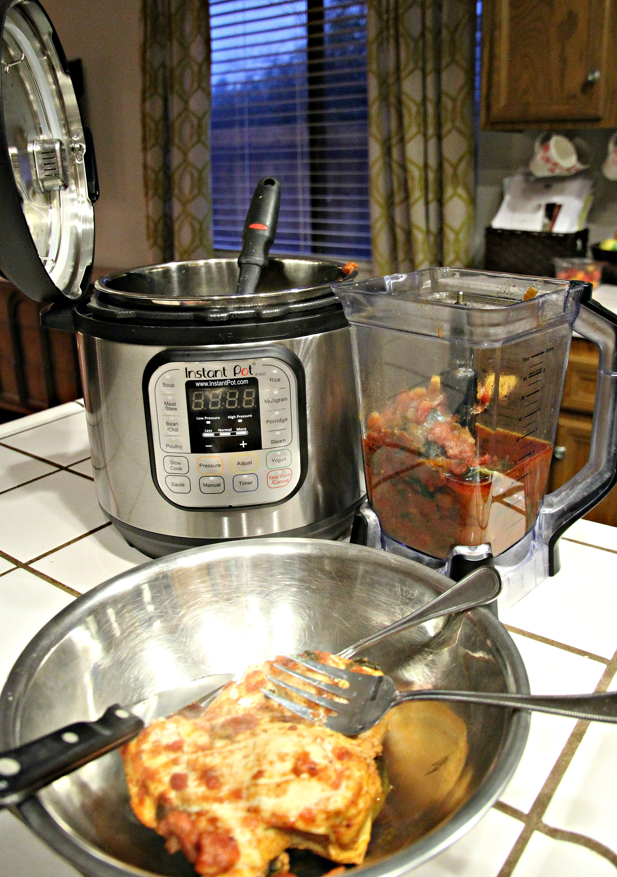 cooked instant pot chicken