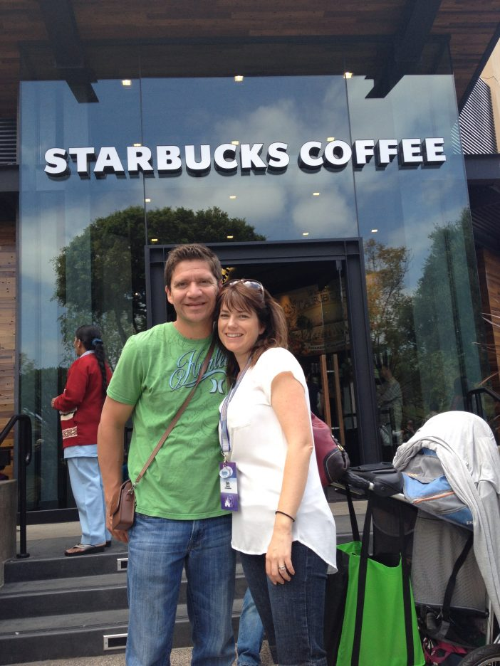 downtown Disney Starbucks coffee
