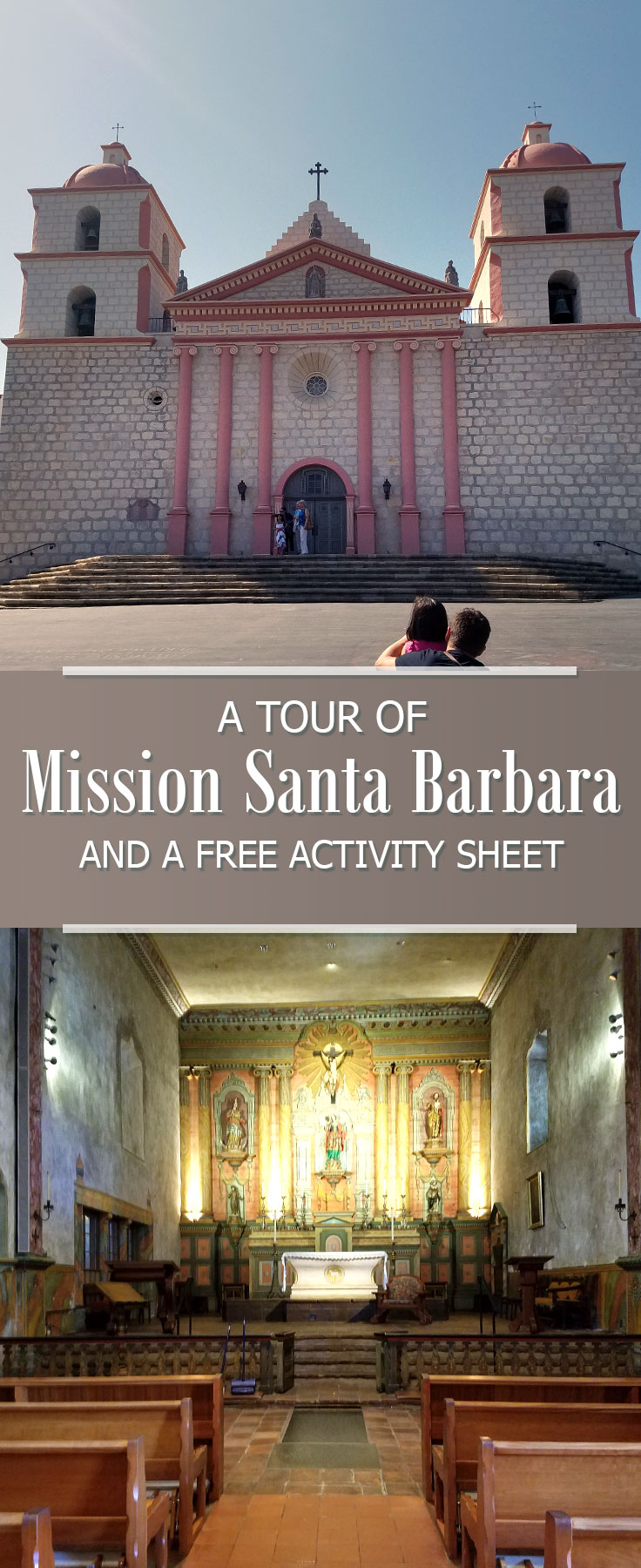santa barbara mission and pictures