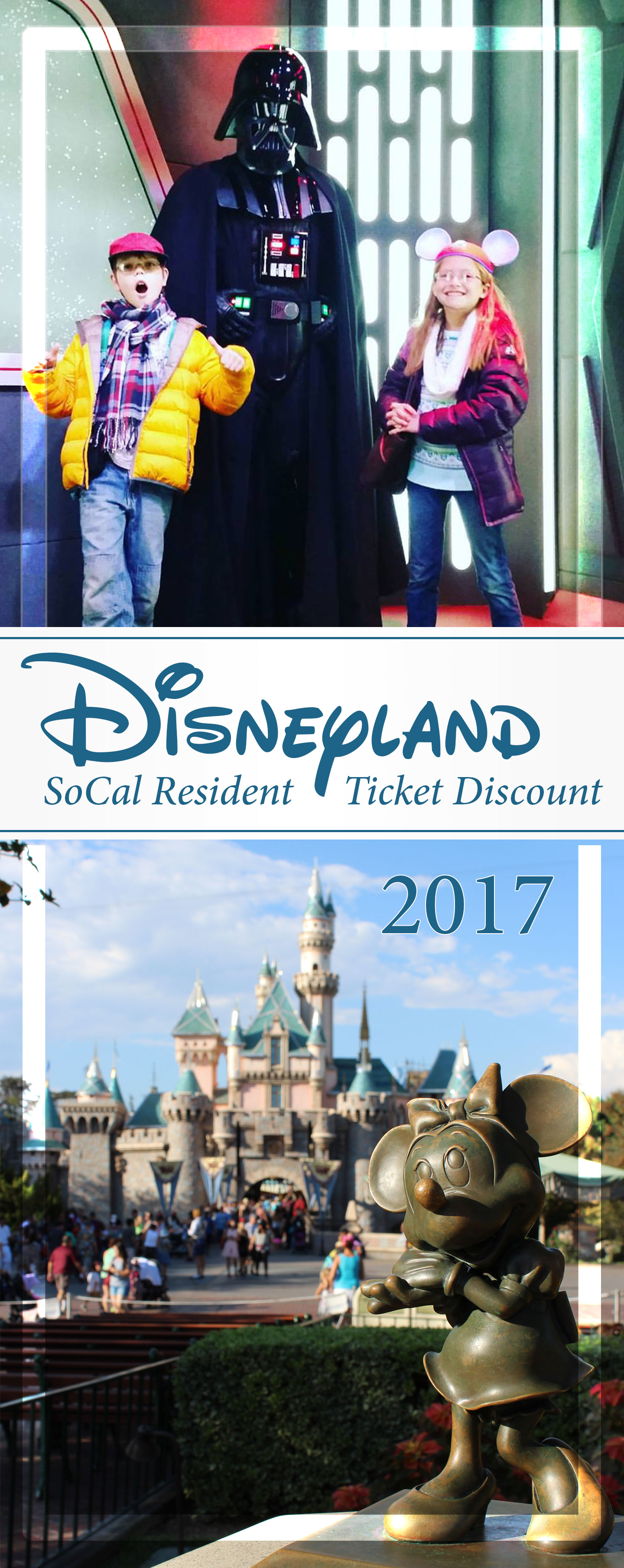 disneyland socal resident discount information