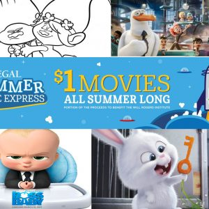 regal summer movies list 2018