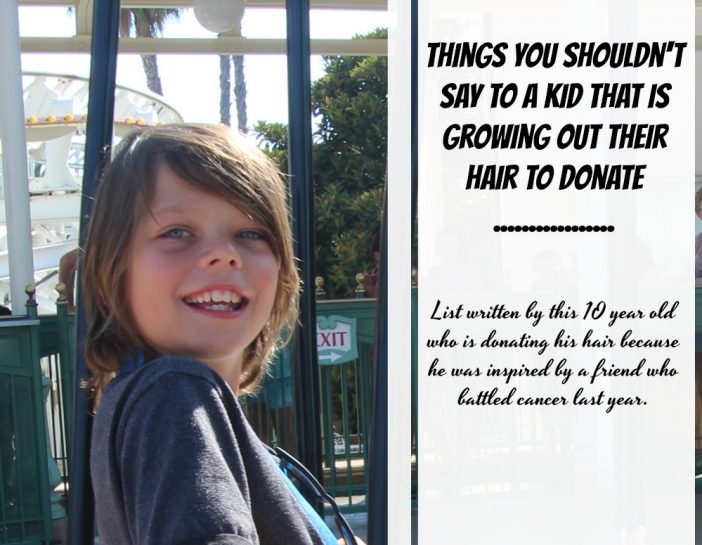 donate your hair