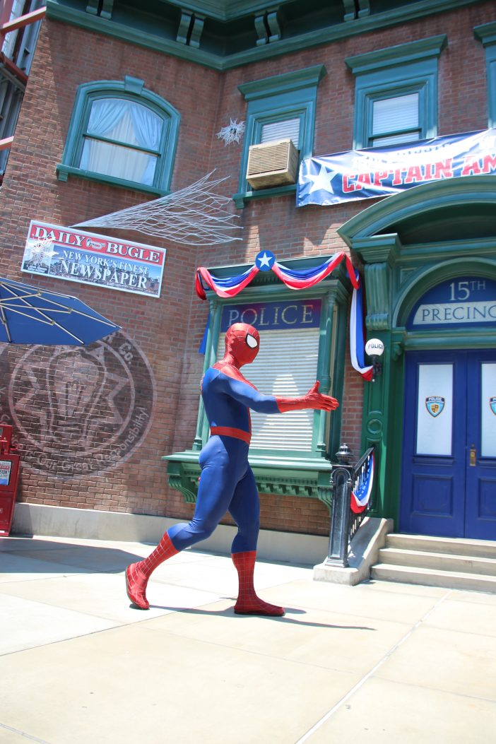Spiderman at Disney California Adventure