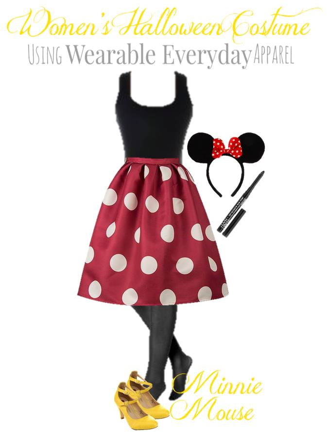 DIY Minney Mouse Costume _ Using Regular Clothes