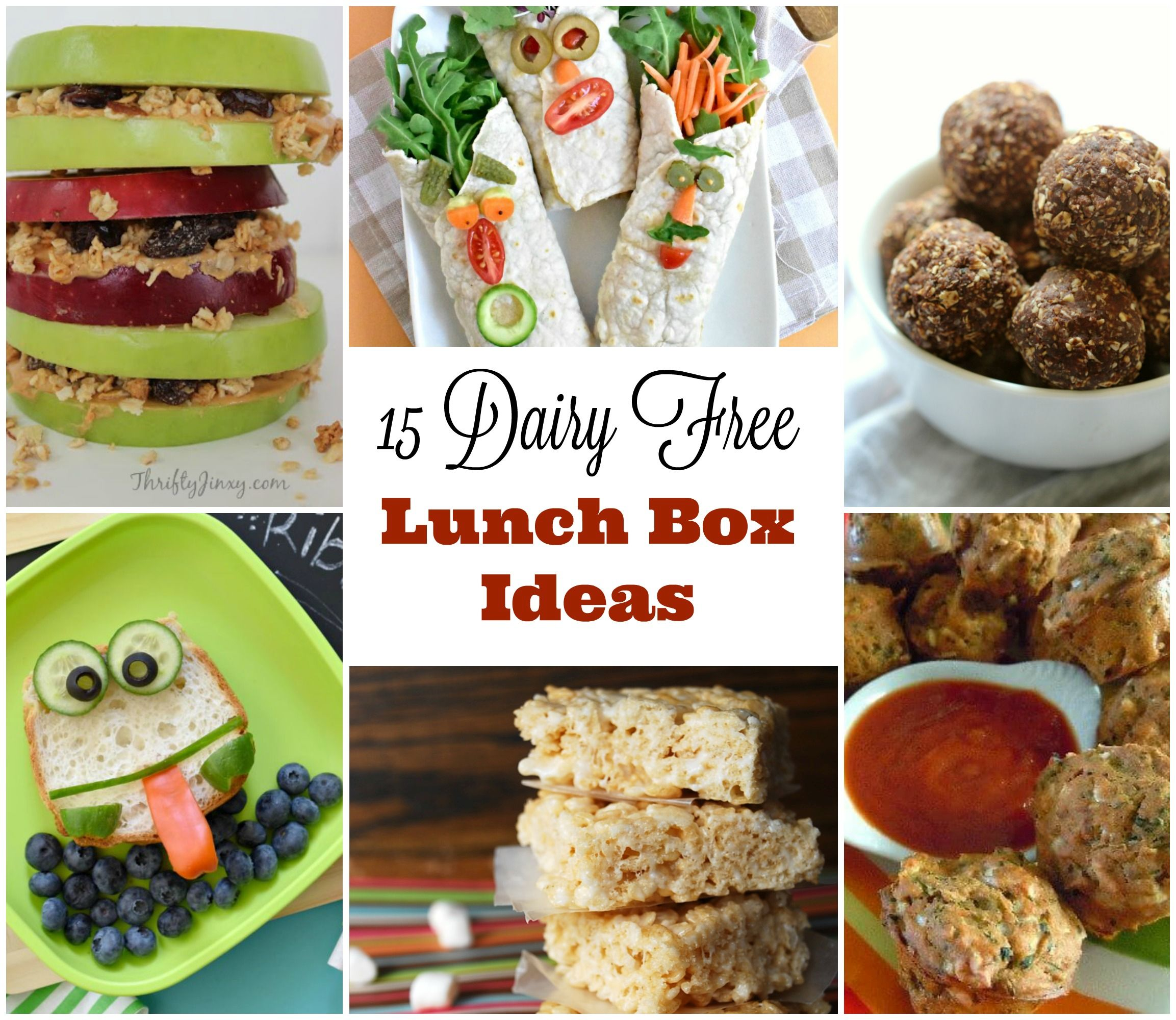 The Best Dairy Free Lunchbox Ideas!