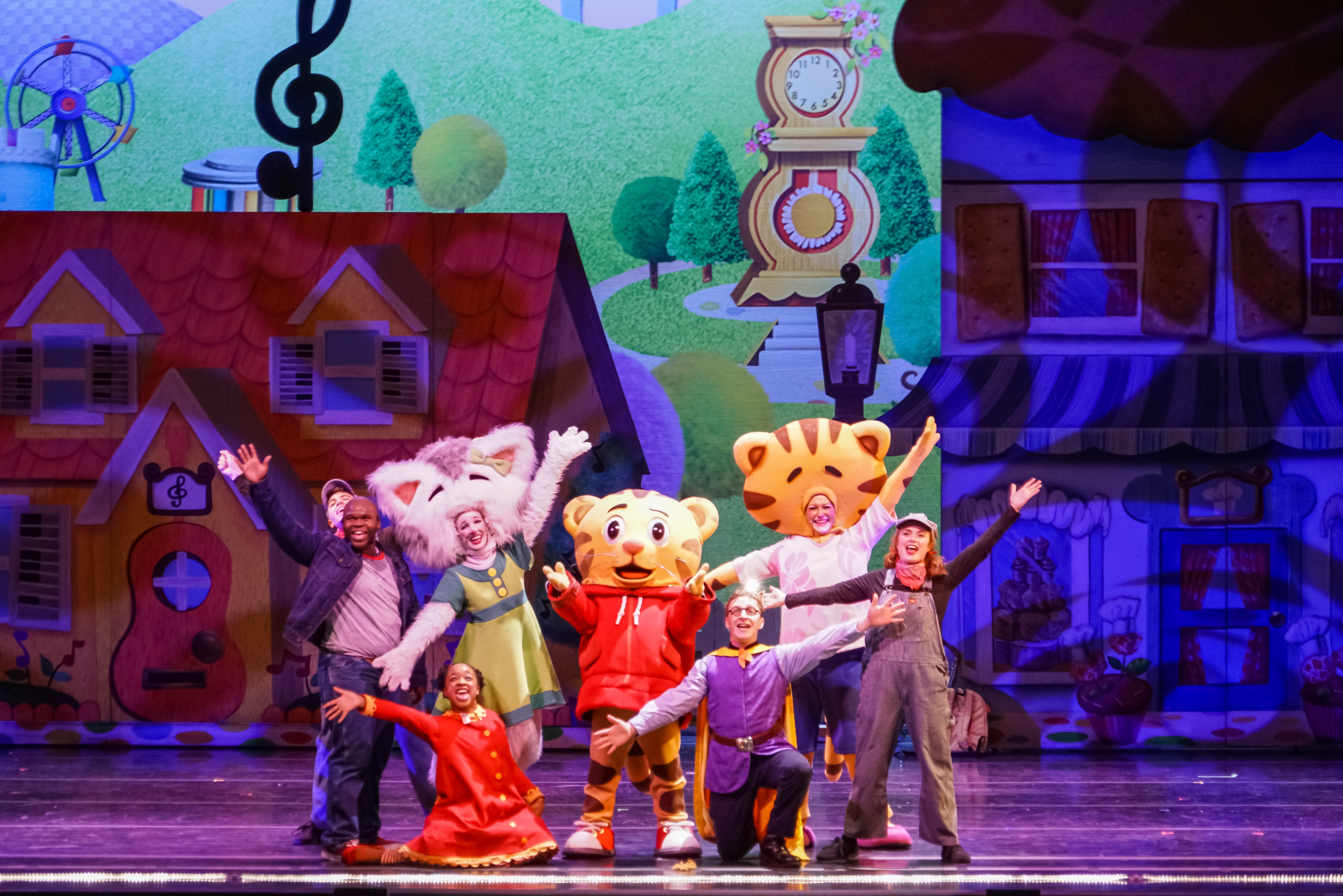 Daniel Tiger Live Stage Show in San Diego
