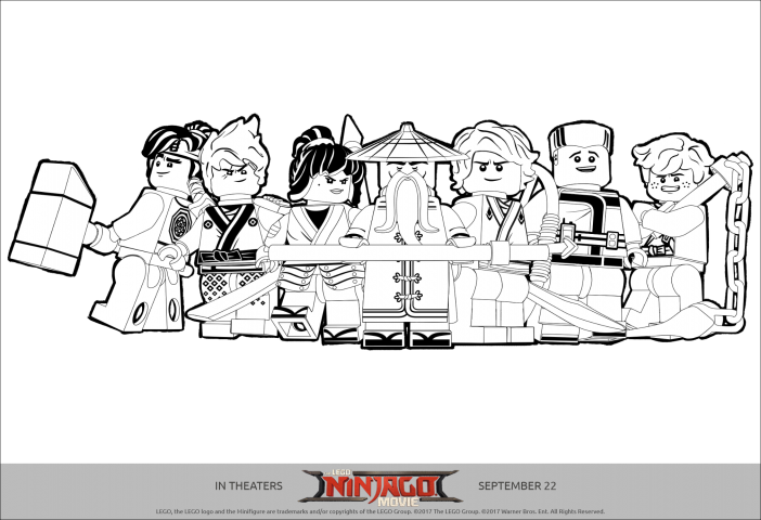 all ninjago printable coloring pages - photo#29