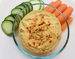 Simple Homemade Hummus without Tahini