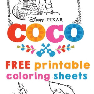 Coco Coloring Sheet