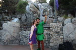 maid marian costume and robin hood
