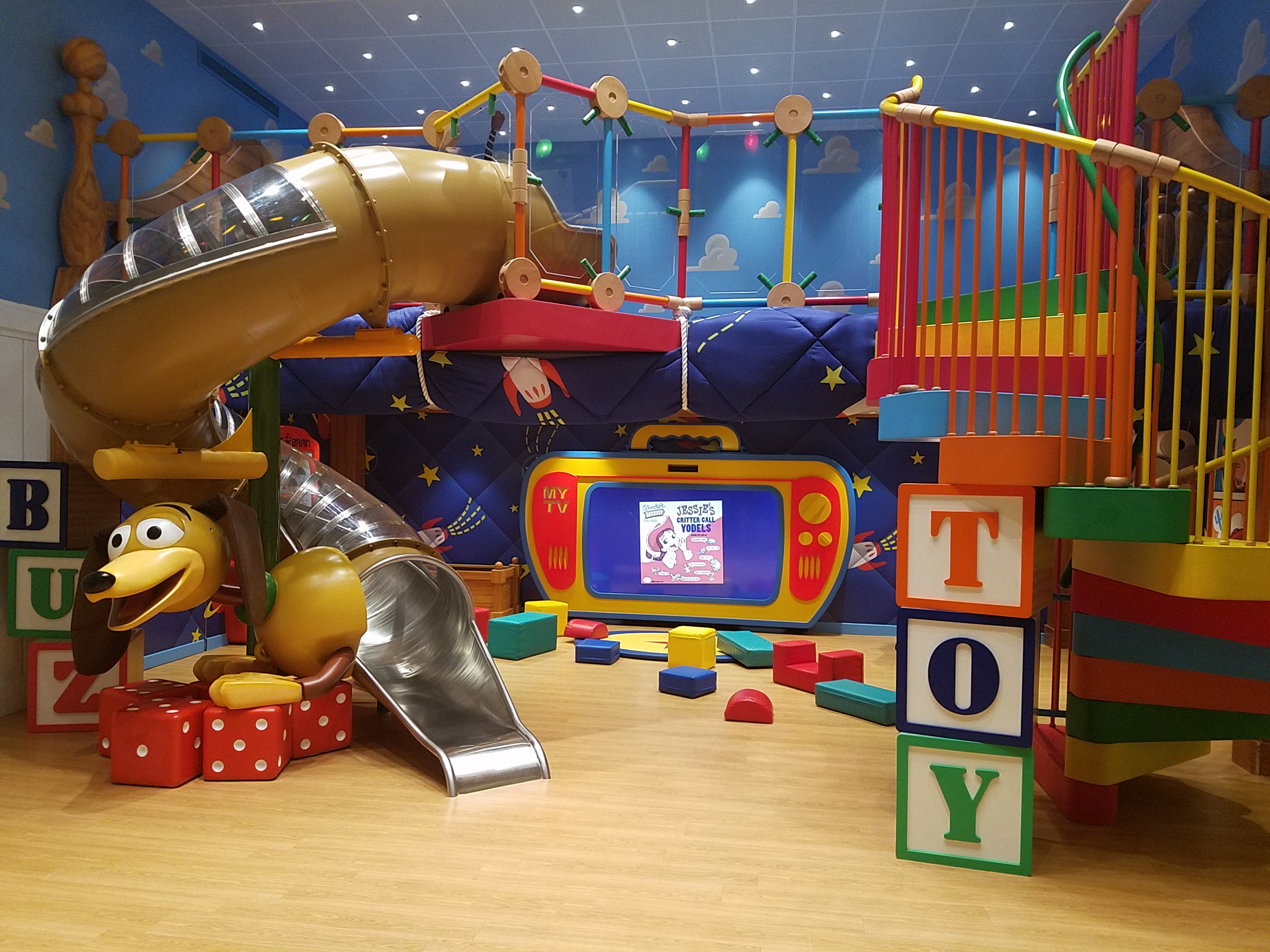 play area disney wonder