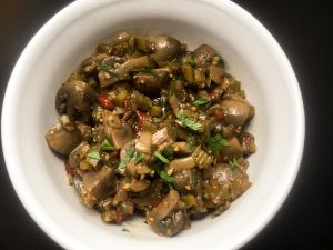 Easy Cajun Marinated Mushrooms