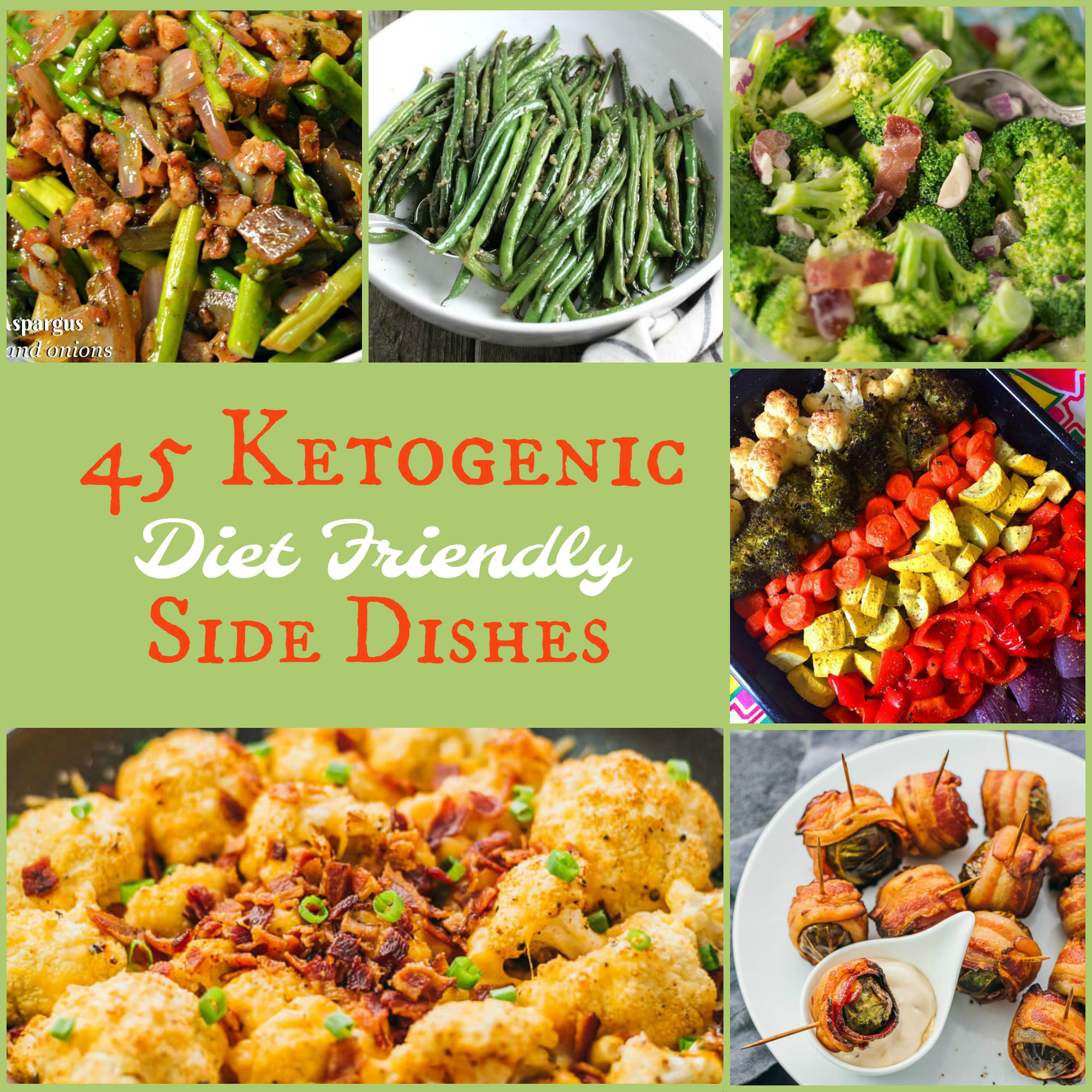 Keto Diet Side Dishes For The Holidays. Ketogenic Recipe
