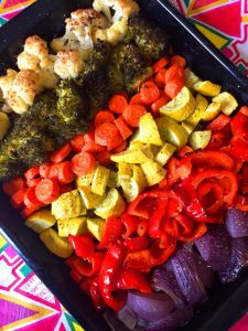 Rainbow Roasted Vegetables Recipe