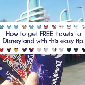 Free Disneyland tickets with this easy trick!
