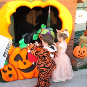 Brick or Treat for the little ones!