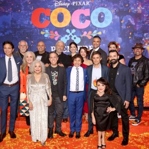 Coco Hollywood premiere