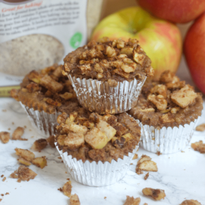 Paleo Apple Crisp Muffins