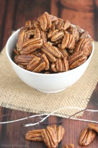 Pumpkin Pie Spiced Candied Pecans