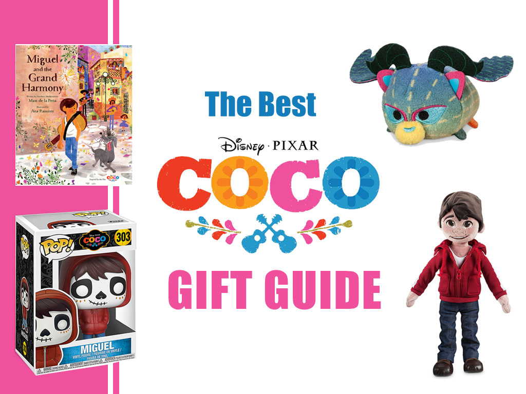Disney Pixar Coco gift guide | Coco Movie holiday Gift Guide