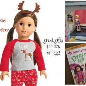 American Girl Stocking Stuffers - gifts for $25 or less!