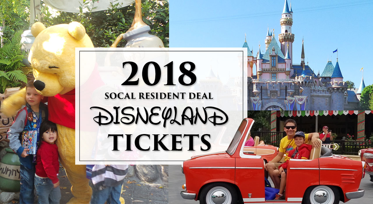 SoCal Resident Disneyland Tickets - best deal ever Southern California!