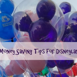 Easy Money Saving Tips for your next trip to Disneyland!