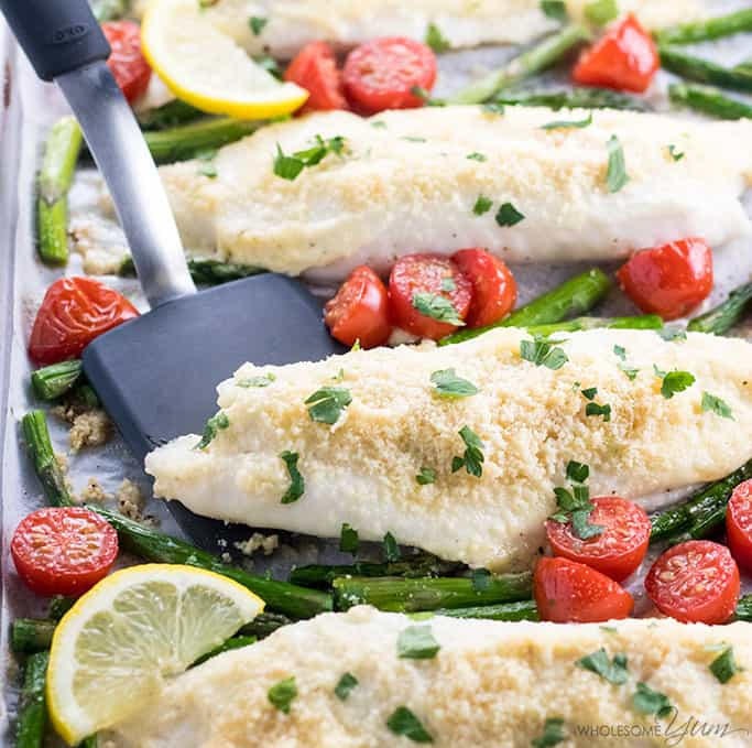 Easy Baked Parmesan Crusted Tilapia Recipe With Mayo