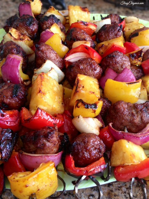 Quick & Easy BBQ Kabobs