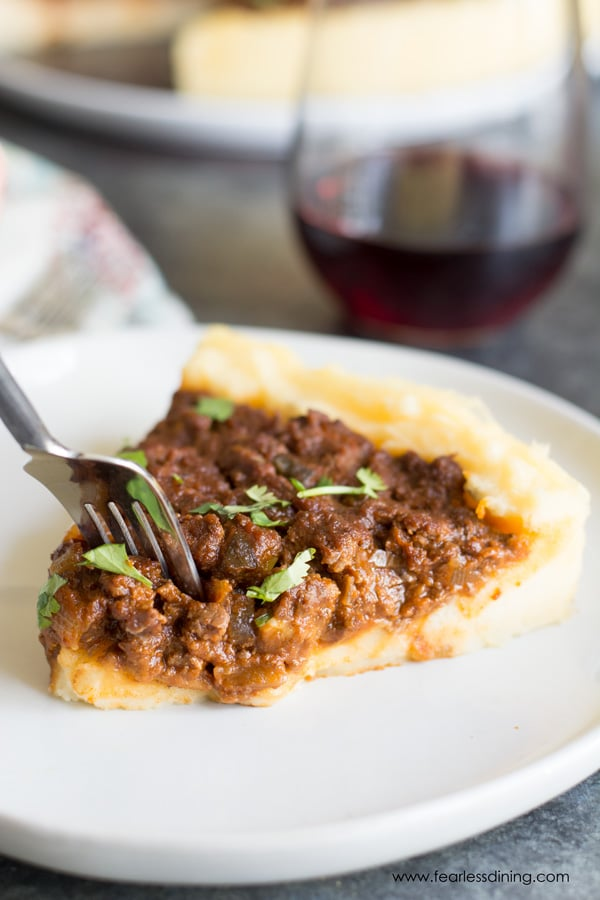Sloppy Joe Mashed Potato Pie