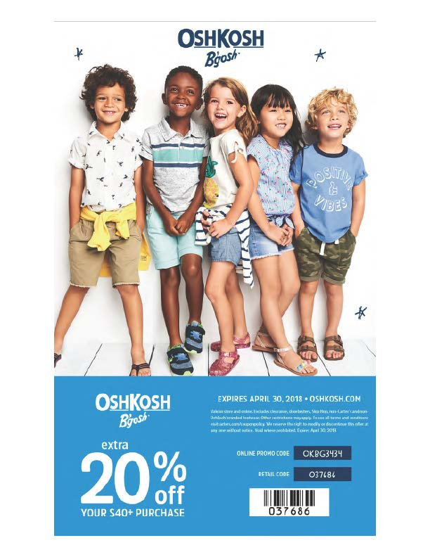 Osh kosh coupon