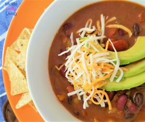 Vegetarian Weight Watchers Chili