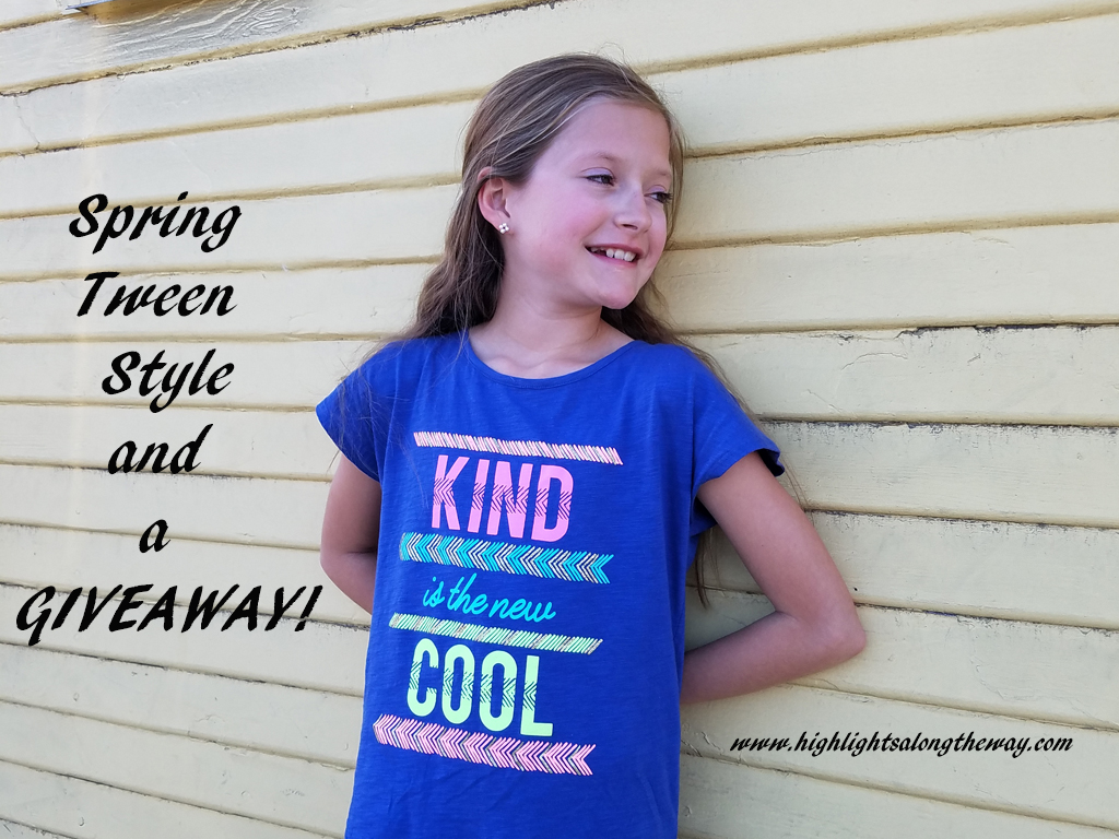 Spring Tween Style and a Giveaway!