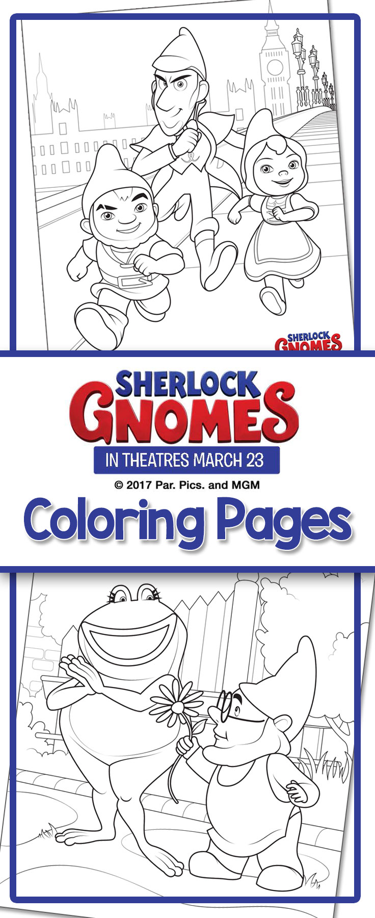 free printable coloring sheets from sherlock gnomes. Black Bedroom Furniture Sets. Home Design Ideas