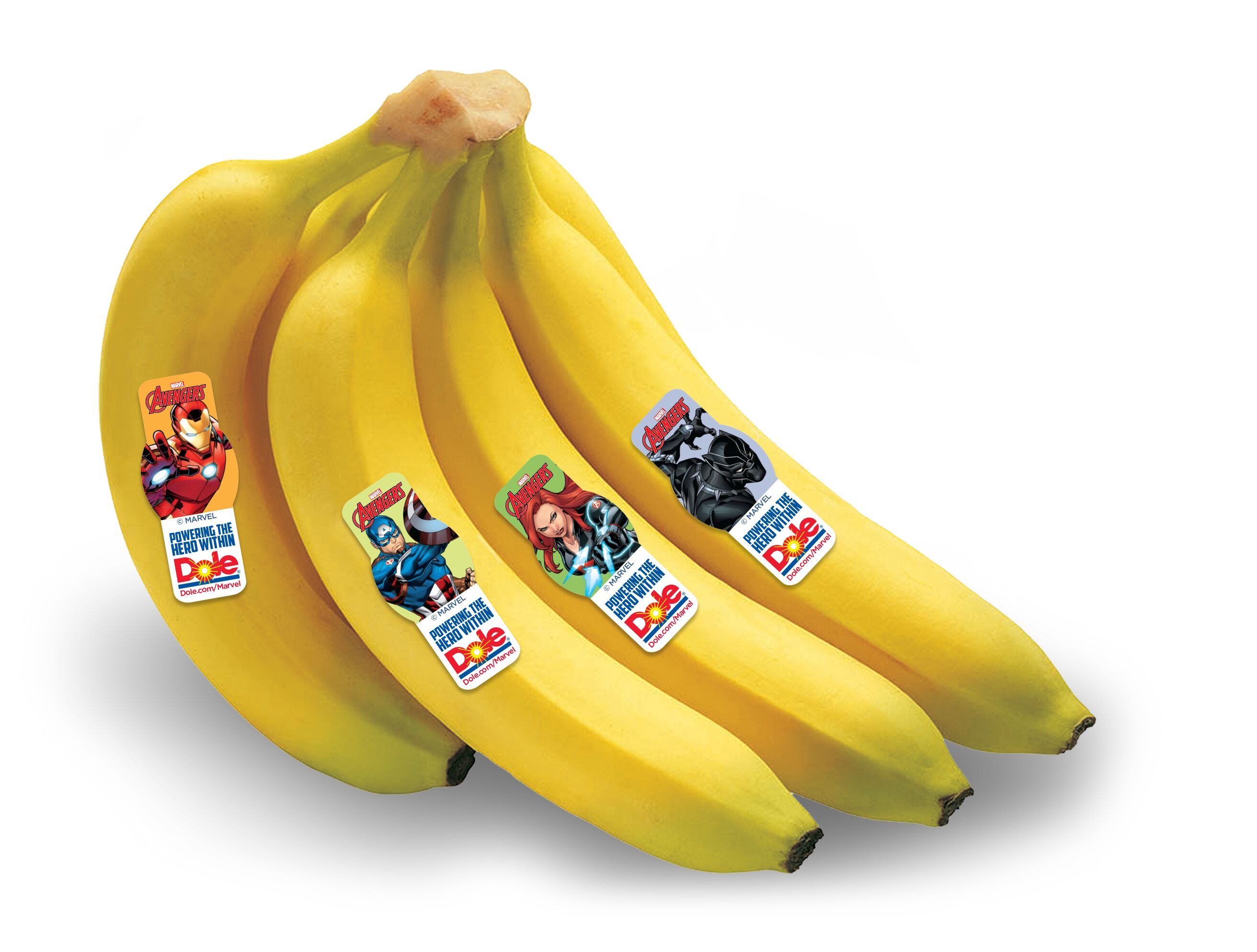 Avengers Marvel Banana stickers