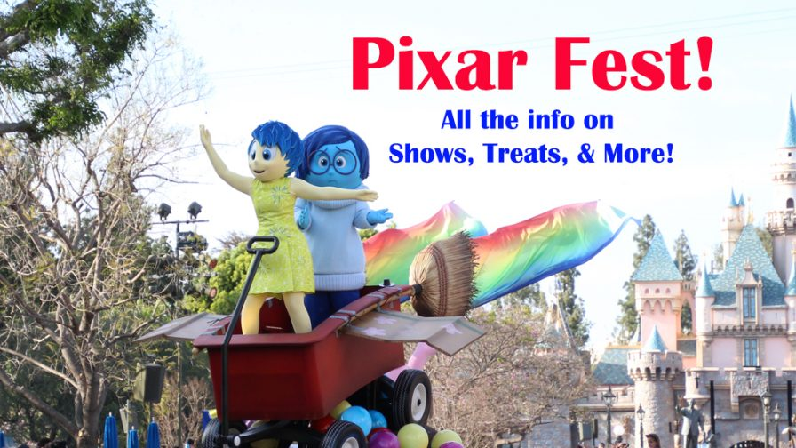 information on Pixar Fest at Disneyland
