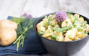 Vegan Instant Pot Potato Salad with Green Beans