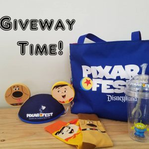 Pixar Fest is in full swing!  Let's celebrate with a GIVEAWAY!