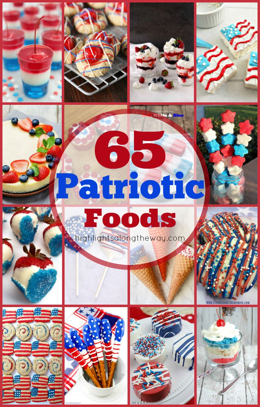 patriotic party foods pinterest