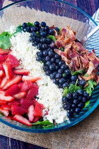 Berry Bacon Salad