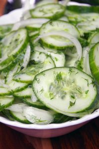 German Cucumber Salad Recipe