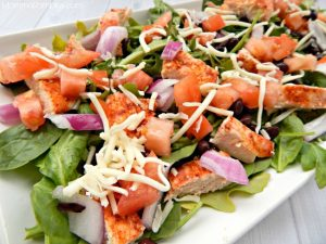 Spicy Chipotle Chicken & Ranch Salad