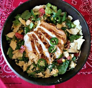 Texas Summer Salad with Grilled Chicken