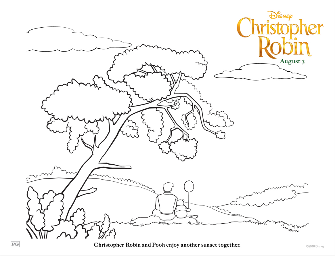 christopher coloring pages - photo#16