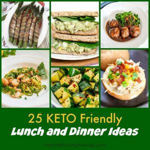 KETO LUNCH IDEAS Roundup