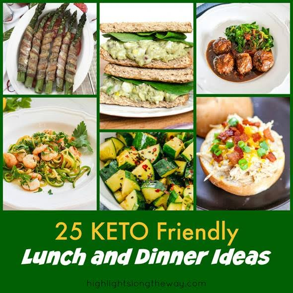 25-keto friendly lunch dinner ideas