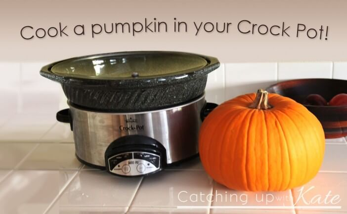 Cook Pumpkin in a Crock Pot